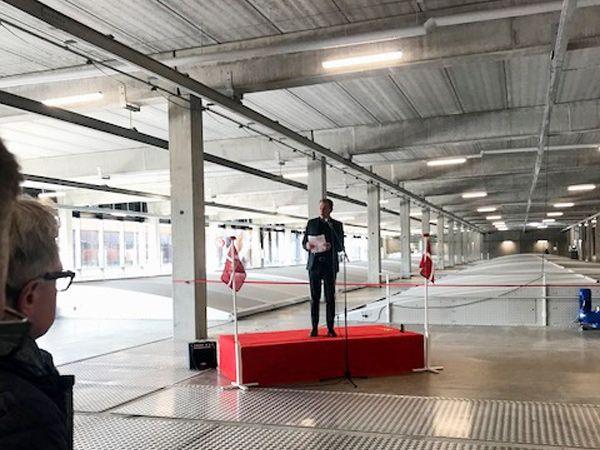 Hillerød har nu Danmarks første fuldt overdækkede renseanlæg, konstaterede viceborgmester Klaus Markussen ved indvielsen.