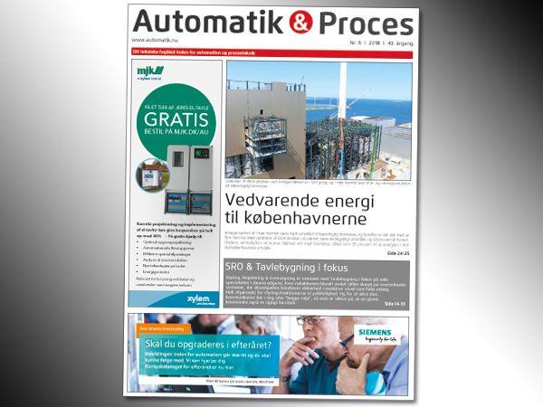 Automatik & Proces nummer 6/2018 kommer vidt omkring inden for robotautomation og procesindustrier.
