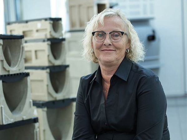 40 års-jubilaren, projektsalgskoordinator Anni Hottenroth Kramer, ACO Nordic.