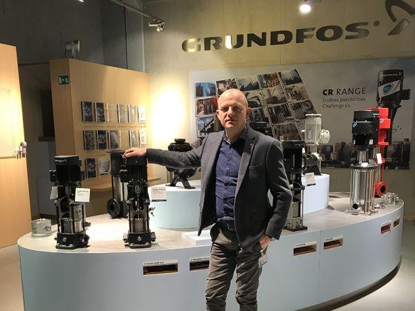 Fremtiden er digital. Også hos pumpeproducenten Grundfos, som lige nu står over for store og grundlæggende forandringer i virksomhedens produktion, fortæller fabrikschef Mikkel Andersen.