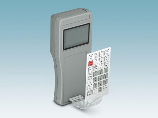 Et af Phonix Contacts seneste folietastaturer tilpasset operatørgrænseflader.