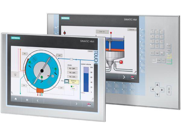 Siemens-operatørpanelerne finder nu også i størrelser mellem 15 og 22 tommer.