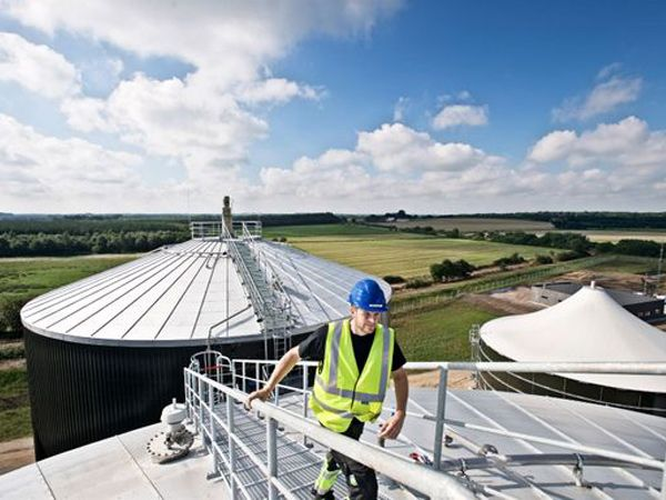 Danmarks største biogasanlæg - Sønderjysk Biogas - slog i maj Danmarksrekord.