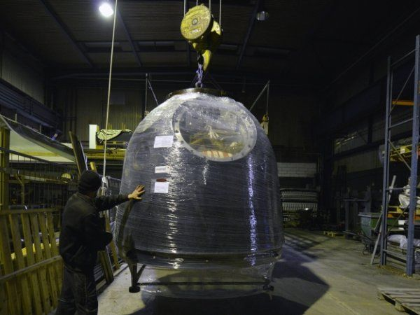 Den rumkapsel som Danmarks foreløbig eneste mand i rummet, Andreas Mogensen, rejste med er nu at finde på Danmarks Tekniske Museum i Helsingør.