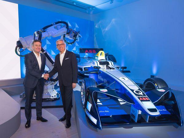 I 2018 hedder elbilernes førende klasse ABB FIA Formula E Championship, fastslår ABB´s CEO Ulrich Spiesshofer og CEO i Formula E, Alejandro Agaq.