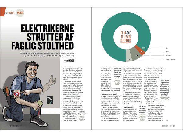 Elektrikerne strutter af faglig stolthed, skriver fagbladet Elektrikeren i den aktuelle udgave.