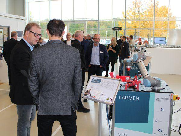 Med den kommende udvidelse kommer instituttets afdeling i Odense til at have et areal på omkring 2.800 kvadratmeter, dedikeret til robotcentret.