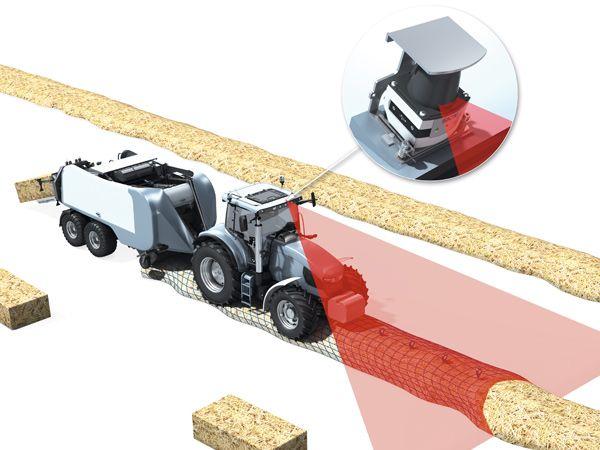 SICK´s WGS-løsning kan integreres i landbrugs-køretøjets styring, og derfor kan man med disse data automatisk positionere og styre landbrugsmaskinen, regulere dens hastighed og alt i alt optimere høstforløbet, fremhæver producenten.
