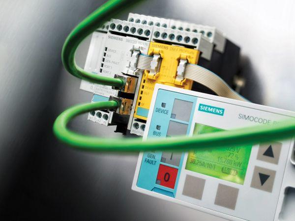 Motorovervågnings- og -styringssystemet Simocode pro kan nu dataudveksle med cloud.