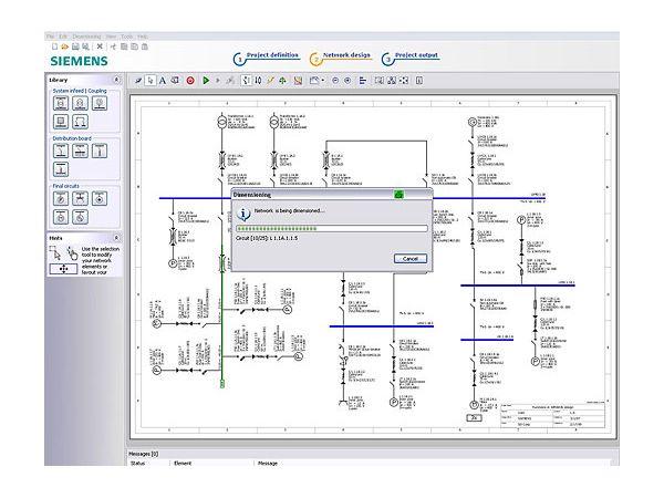 Til at sikre brugerne rette dimensionering af elinstallationer i henhold til Installationsbekendtgørelsen DS/HD60364 anbefales Simaris Design-værktøjet, som dimensionerer hele lavspændingsinstallationen og giver brugeren komplet dokumentation på hele installationen.