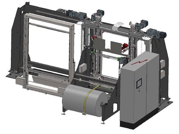 Samarbejdet mellem UPS og Tentoma gælder RoRo StretchPack-maskiner.