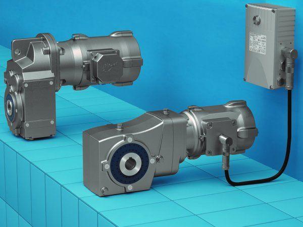 Eksempler på Nord Drivesystems aktuelle korrosionsbestandige aluminiumdrev.