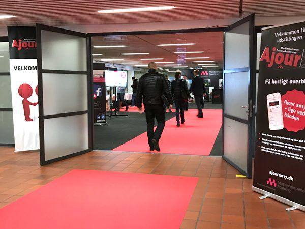 Dørene er nu slået op til to dage med Ajour 2017 i Odense, hvor en række udstillere er på plads i messehallen ved siden af konferencefaciliteterne, som anvendes til en række kurser, seminarer og afholdelse af Maskinmestrenes Årsdag.