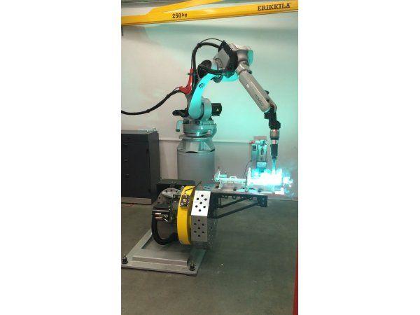 Egatec leverer den italienske Comau-robot, der udvider kapaciteten i en størrelsesorden, der modsvarer tre mands arbejde.