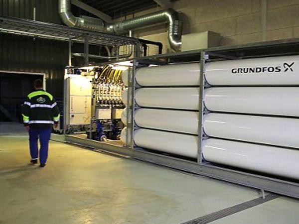 """BioBooster har hovedrollen i Arla Foods og Grundfos´ recirkuleringsprojekt i Rødkærsbro, der er blevet hædret med """"Industrial Water Project of the Year""""-prisen."""