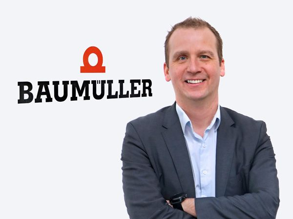 Carsten Loie er leder og salgschef for Baumüllers skandinaviske filial Baumüller Scandinavia ApS.