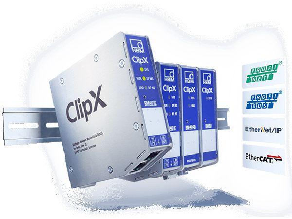 Den præcise og integrerede ClipX dataopsamler er en allrounder for brug ved målings- og overvågningsopgaver. (Billede: HBM)
