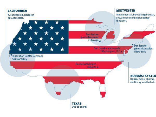 Houston, Texas, bliver fra 2018 mere tilgængeligt for danske virksomheder, når der etableres et dansk generalkonsultat.