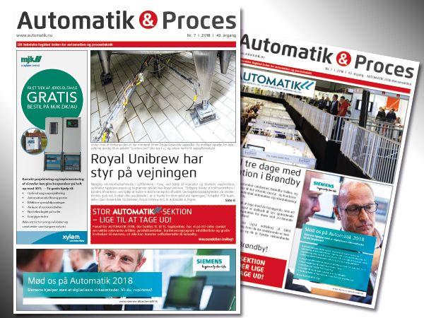Årets 7. udgave af Automatik & Proces handler først og fremmest om AUTOMATIK 2018.