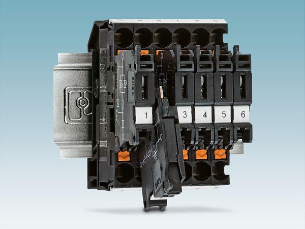 Pnoenix Contacts aktuelt lancerede strømindikatorklemme med Push-in-tilslutning.