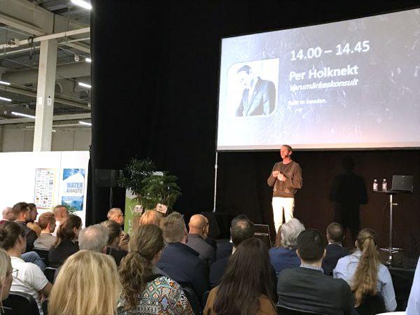 Der var 2.460 besøgende igennem tælleapparaterne i Malmø på årets Industrimässorna, og herunder sektoren Automation, hvor der var en række talere på scenen i løbet af de to dage.