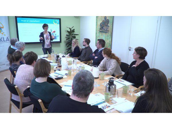 CIRKLA-kursister under et tidligere gennemført CIRKLA-kursus hos Aage Vestergaard Larsen A/S i Mariager.