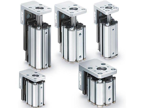 SMC´s seneste MXZ-serie er en kompaktcylinder med indbygget føring.