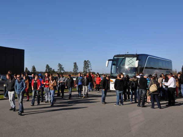 460 studerende ventes forbi til Tech Tour-studiedag 2018.