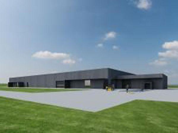 Det kommende Advansor-hovedsæde, i umiddelbar tilknytning til E45, samler salg, design og produktion.