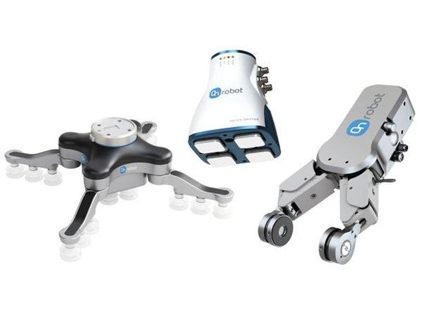 Medarbejdere og robotter kan i dag arbejde sikkert side om side, fordi end-of-arm-løsningerne er mere brugervenlige og har intuitive programmerings- og sikkerhedsfunktioner.