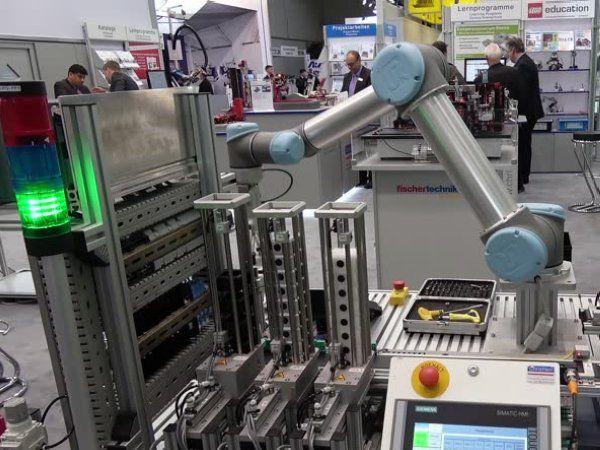 Automationshallerne på Hannover Messe 2019 omfatter en række af de vigtigste producenter inden for Cobots, Digital Twins, Smart Factory og additiv produktion, som også er hovedtemaer på DIRA-turen.