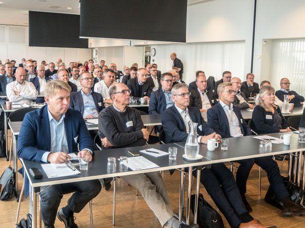 Cirka 80 deltagere fra BITVA-medlemsvirksomhederne deltog i BITVAdøgnet 24h 2018 på Hotel Storebælt i Nyborg.