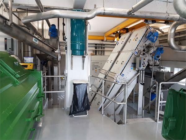 Krüger-udstyr ses her installeret i Novafos-ristebygningen ved Usserød Vandværk.