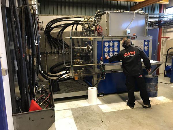Parker Hannifin har valgt at udnævne AVN Hydropower til Authorized Repair Center, ARC, for Parker's hydrauliske pumper og motorer.