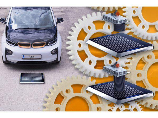 Parkér, tilslut og oplad med hurtigt konfigurerbare og slidstærke Igus-tandhjul i Matrix-ladesystemet. (Illustration: Igus GmbH)