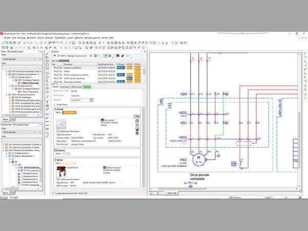 Syngineer sikrer, at designere fra de elektriske og mekaniske domæner kan tale sammen. Det cloud-baserede værktøj letter kommunikationen og optimerer samtidigt udvikling på tværs af teknologierne i udviklingen af maskiner og systemer.