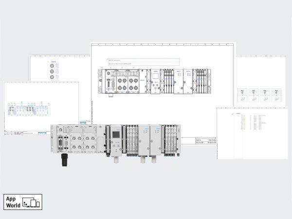 På Automatik 2018 kan man hos Festo blandt andet opleve Schematic Solution-modulet på standen.