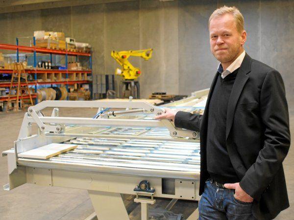 Hos Gibotech er projekterne kommet i så stor mængde og størrelse, så virksomheden har skaleret op, og ansat flere, fortæller administrerende direktør Henrik Anker.