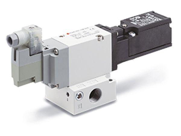 SMC Danmark slår aktuelt et slag for tre-ports-magnetventilerne  VP542-X536 og VP742-X536.