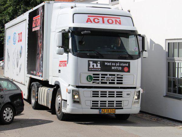Acton kører også i år vejene i Danmark tynde. Roadshowet er forlænget til to uger, og inkluderer et hold ved AUTOMATIK 2018-messen i Brøndby.