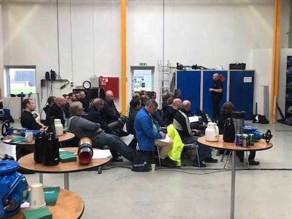 Arrangementet i Vejle-afdelingen tiltrak stor bevågenhed, hvor Grønbech & Sønner også havde gode dialoger og fik inputs fra de mange deltagere.