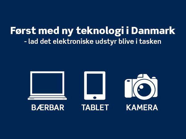 Flypassagererne kan nu lade det elektroniske udstyr forblive i håndbagagen i Aalborg Lufthavn.