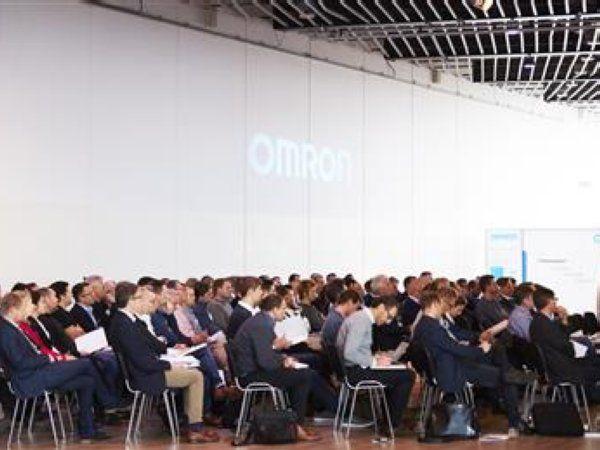 Der var omkring 100 deltagere, da der 5. december blev holdt konference om kunstig intelligens hos Omron i Malmø.