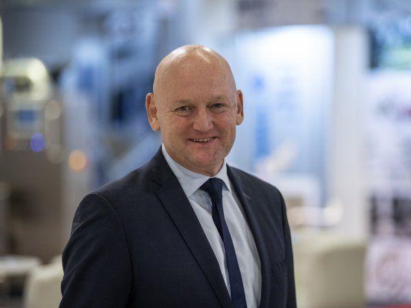 MCH´s administrerende direktør Georg Sørensen har i godt 35 år været beskæftiget i MCH, og igennem alle årene været tilknyttet hi-messerne. (Foto: MCH/Lars Møller)