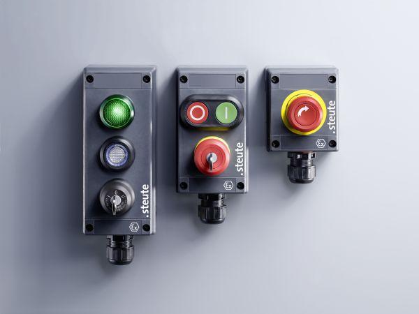 HMI-interfaces fra Steute omfatter nu også Ex BF 80-produkter udviklet specielt til brug i barske miljøer.