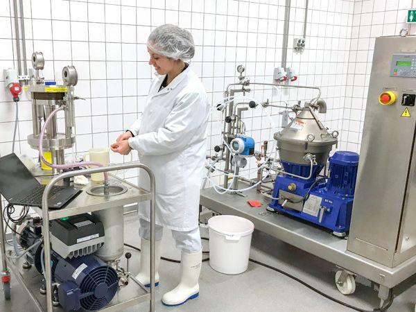 Planen er at teste teknologier til skånsom udvinding af proteinerne. Udstyret er støttet af Norma og Frode Jacobsens Fond.