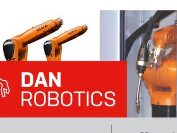 DanRobotics har i flere år udviklet fleksible robotløsninger, primært inden for robotsvejsning, oplyser salgschef Joacim Lorentsson, Kuka Nordic.