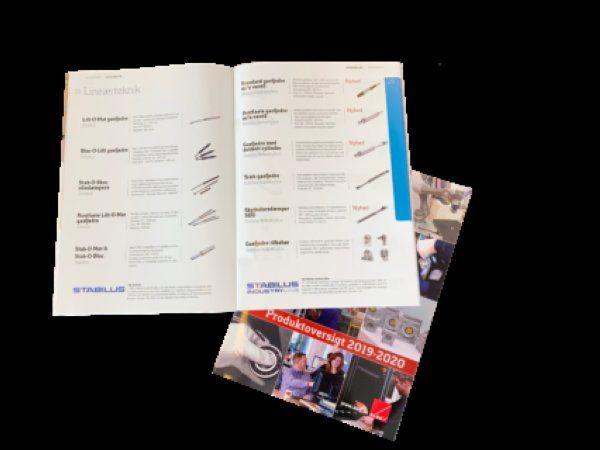 Den seneste produktoversigt fra Brd. Klee er på vej ud til brugerne, oplyser Albertslund-firmaet.