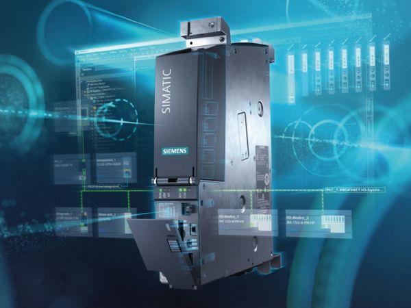 Simatic Drive Controller, der i én enhed kombinerer en Simatic S7-1500 Controller med Motion Control-teknologi og sikkerhedsfunktionalitet med en Sinamics S120 Drive Controller.