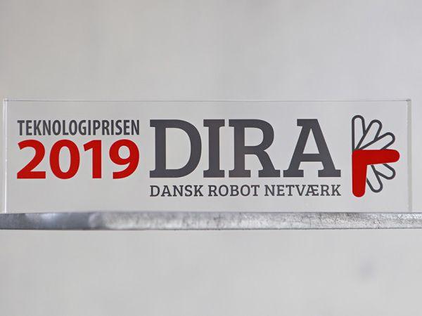 DIRA har introduceret en pris for innovative produkter: DIRA Teknologiprisen.